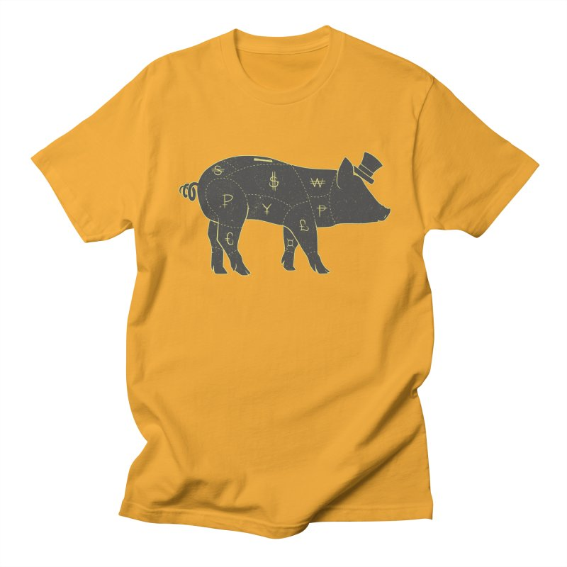 Piggy Bank Men's T-shirt by Tobe Fonseca's Artist Shop