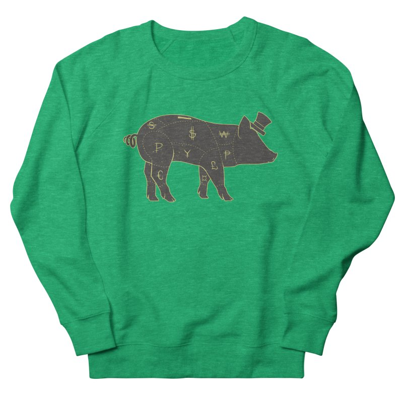 Piggy Bank Women's Sweatshirt by Tobe Fonseca's Artist Shop