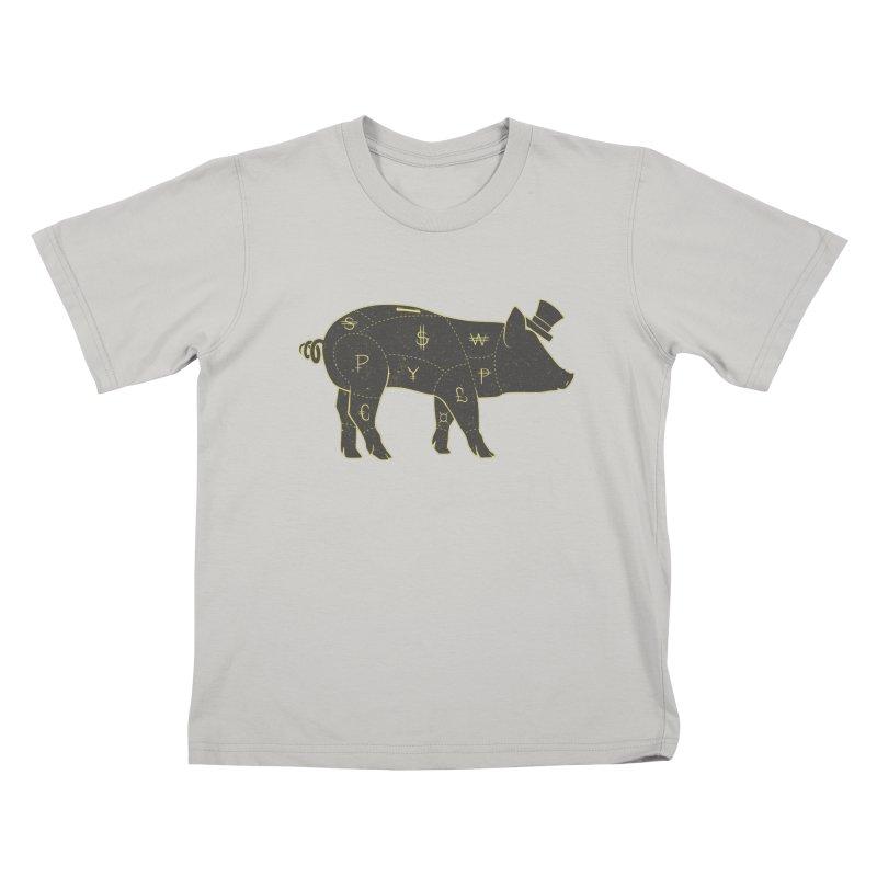 Piggy Bank Kids T-shirt by Tobe Fonseca's Artist Shop