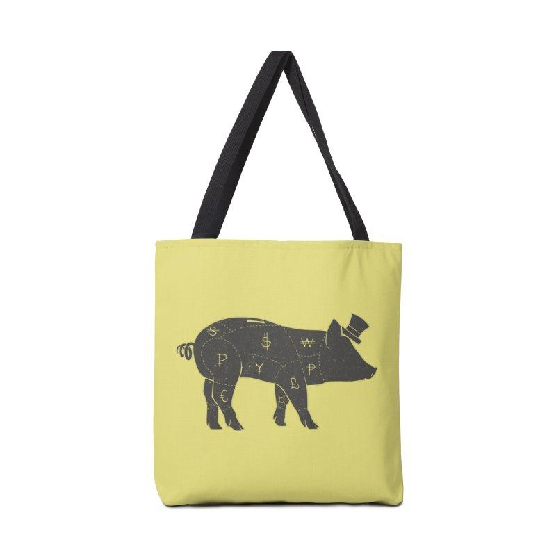 Piggy Bank Accessories Bag by Tobe Fonseca's Artist Shop
