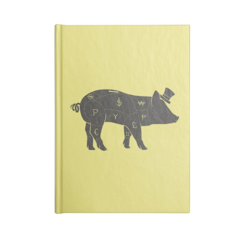 Piggy Bank Accessories Notebook by Tobe Fonseca's Artist Shop