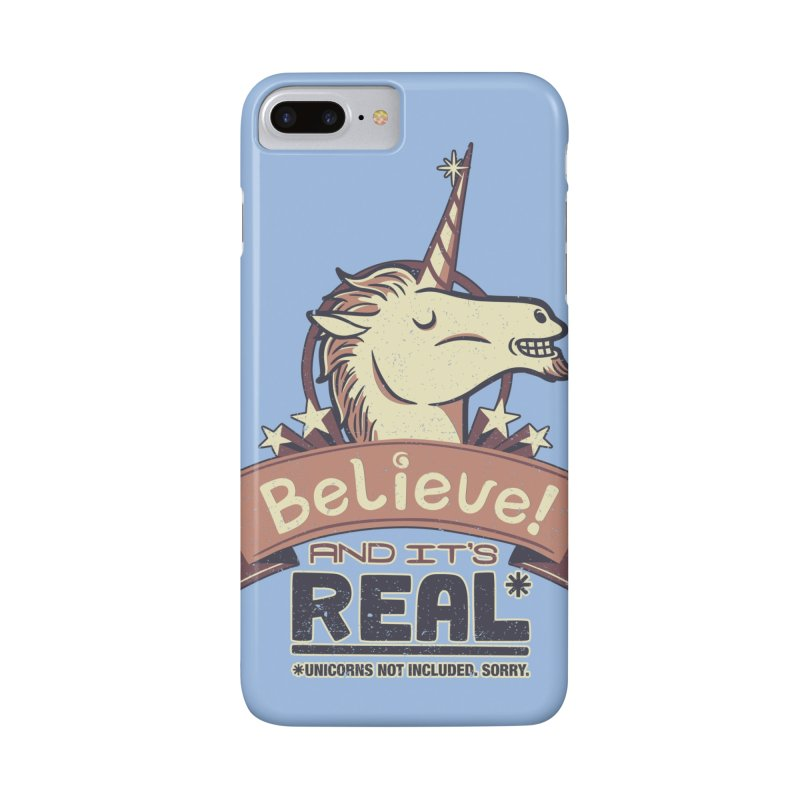 Unicorn Believe And Its Real Accessories Phone Case by Tobe Fonseca's Artist Shop