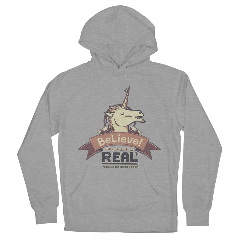 Unicorn Believe And Its Real Women's Pullover Hoody by Tobe Fonseca's Artist Shop