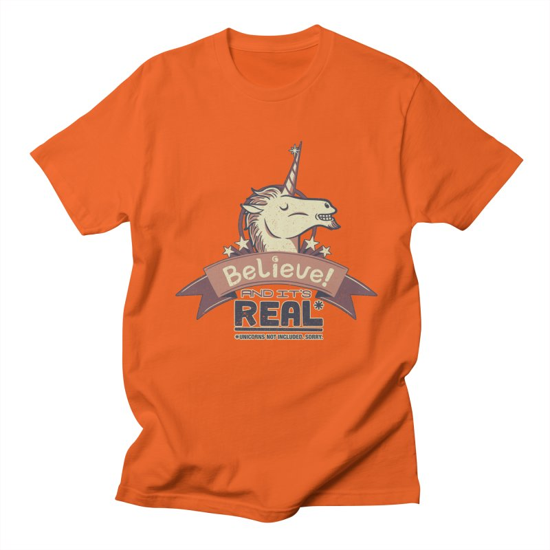 Unicorn Believe And Its Real Women's Unisex T-Shirt by Tobe Fonseca's Artist Shop