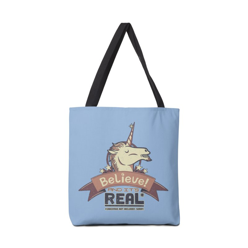 Unicorn Believe And Its Real Accessories Bag by Tobe Fonseca's Artist Shop
