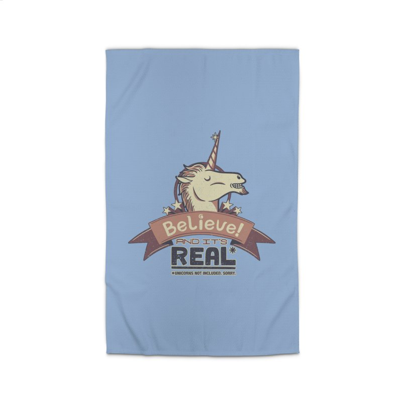 Unicorn Believe And Its Real Home Rug by Tobe Fonseca's Artist Shop
