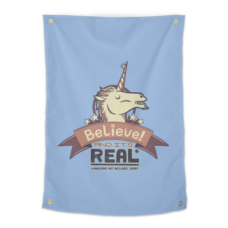 Unicorn Believe And Its Real Home Tapestry by Tobe Fonseca's Artist Shop