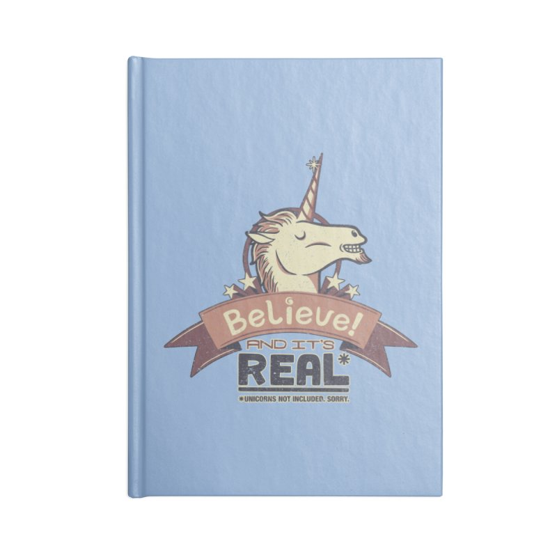 Unicorn Believe And Its Real Accessories Notebook by Tobe Fonseca's Artist Shop