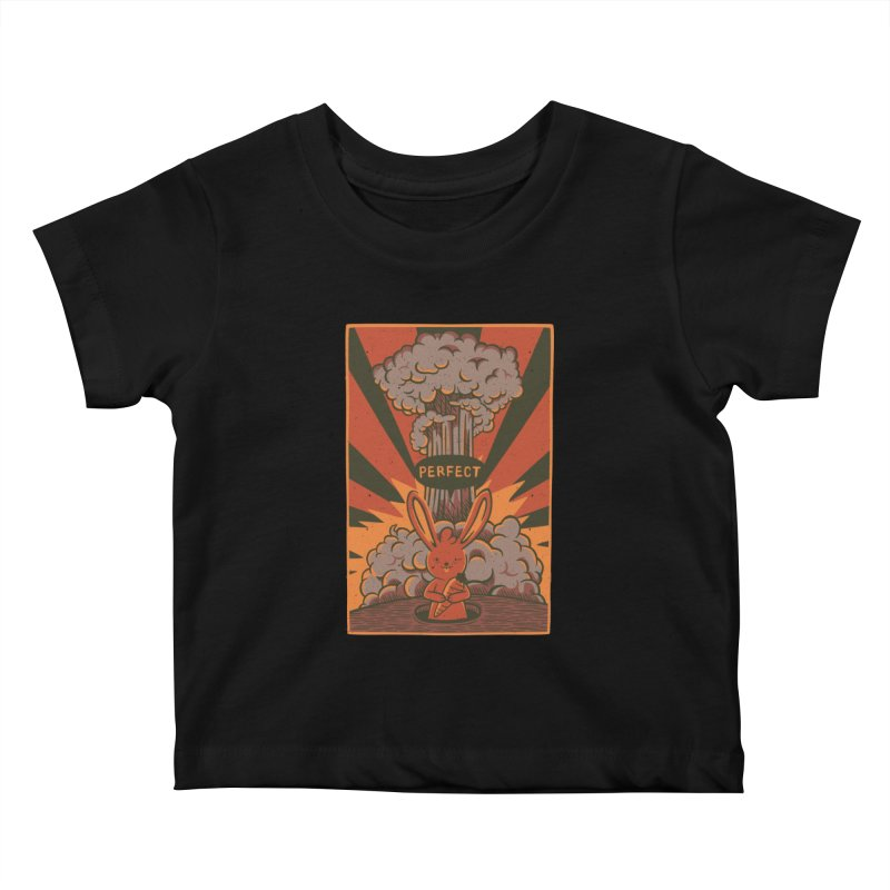 Perfect Kids Baby T-Shirt by Tobe Fonseca's Artist Shop