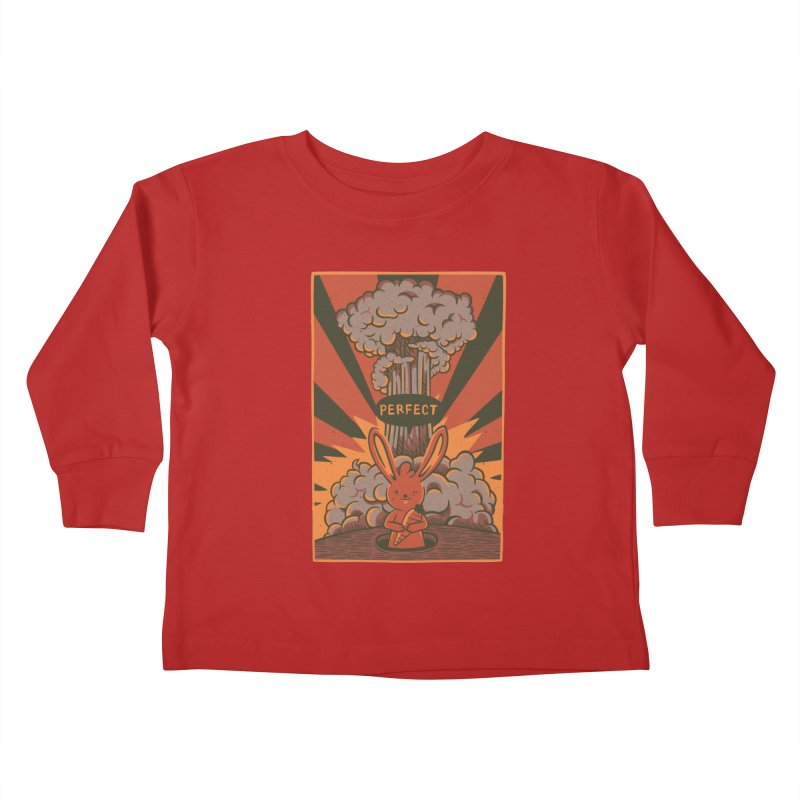 Perfect Kids Toddler Longsleeve T-Shirt by Tobe Fonseca's Artist Shop