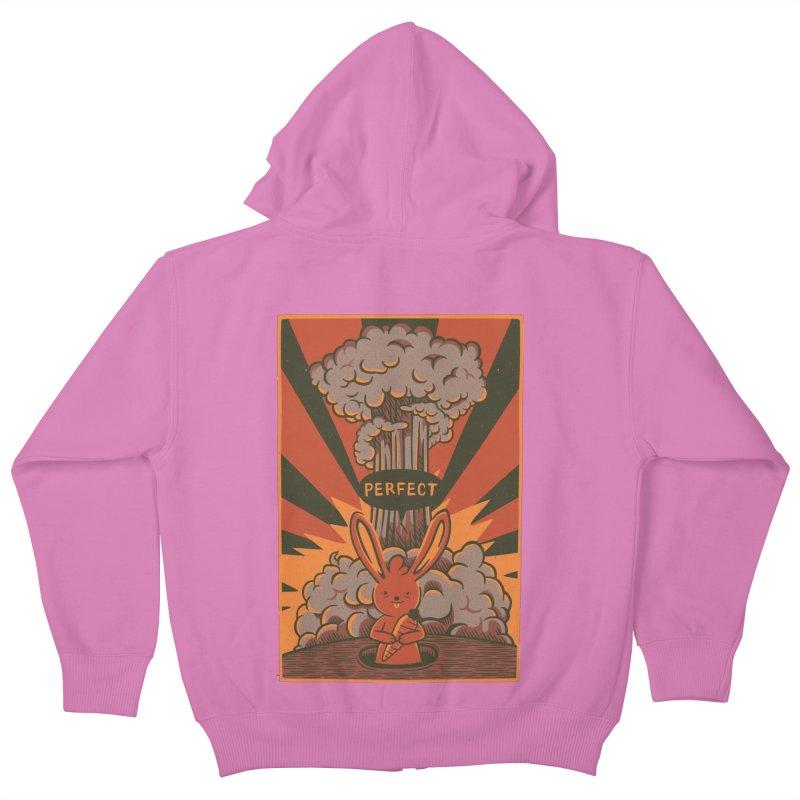 Perfect Kids Zip-Up Hoody by Tobe Fonseca's Artist Shop