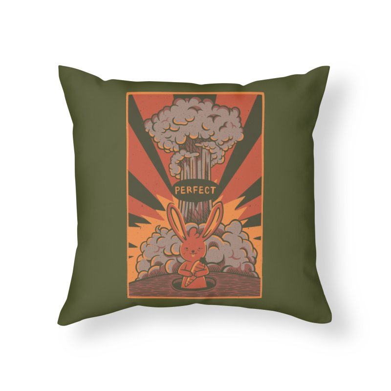 Perfect Home Throw Pillow by Tobe Fonseca's Artist Shop
