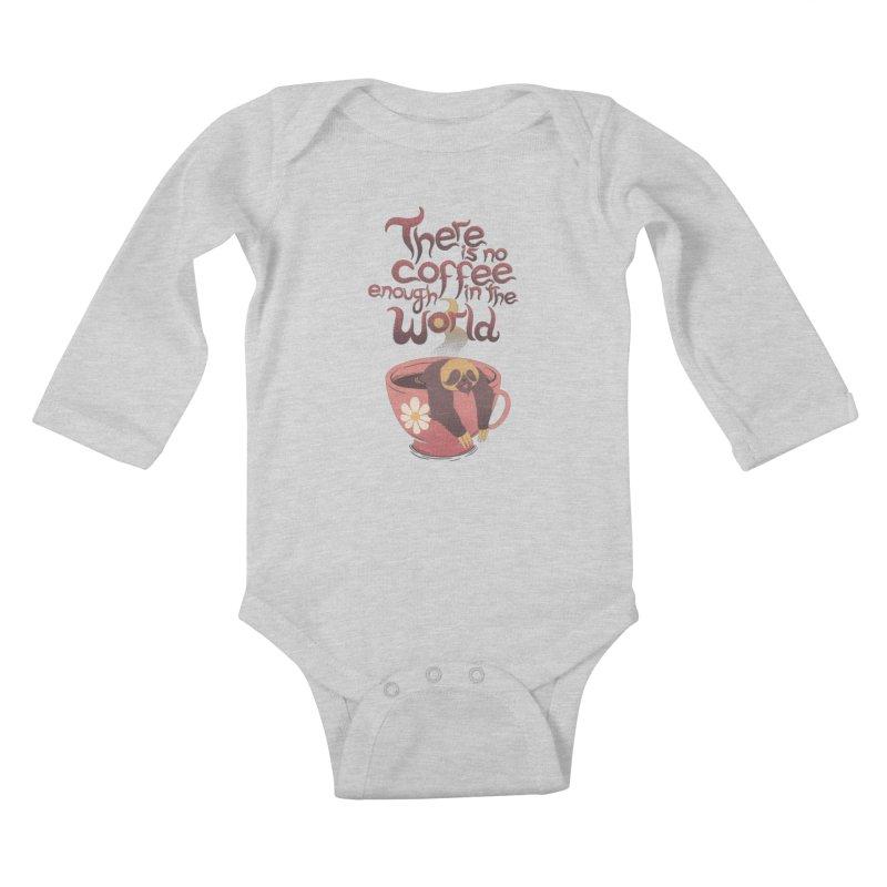 Infinite Nap Kids Baby Longsleeve Bodysuit by Tobe Fonseca's Artist Shop