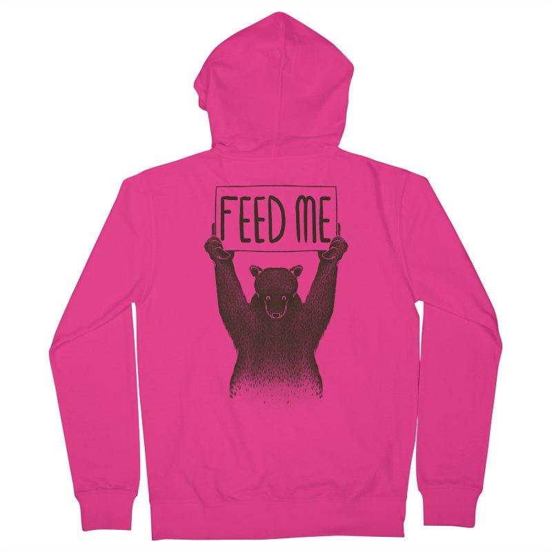 Feed Me Bear Men's Zip-Up Hoody by Tobe Fonseca's Artist Shop