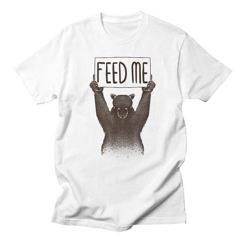 Feed Me Bear Men's T-shirt by Tobe Fonseca's Artist Shop