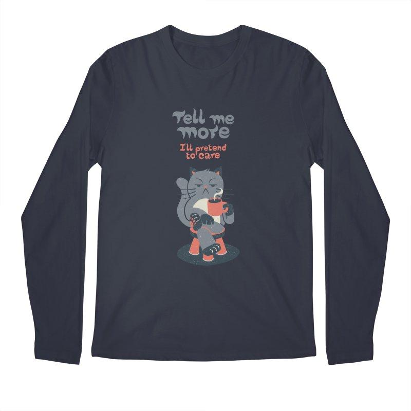 Ironicat Men's Longsleeve T-Shirt by Tobe Fonseca's Artist Shop