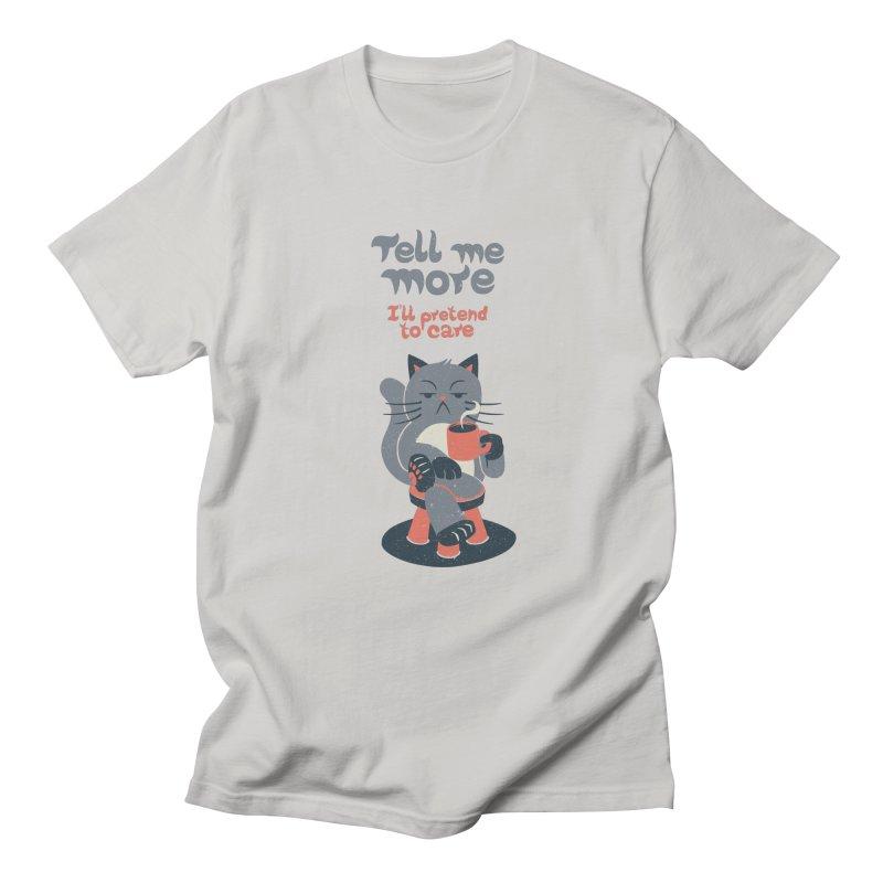 Ironicat Men's T-shirt by Tobe Fonseca's Artist Shop
