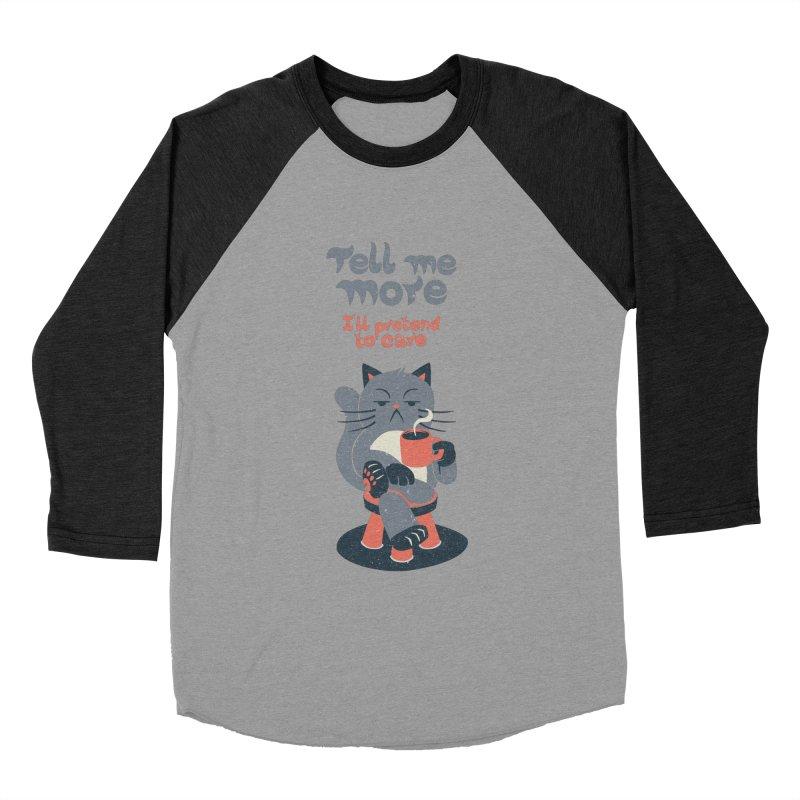 Ironicat Men's Baseball Triblend T-Shirt by Tobe Fonseca's Artist Shop