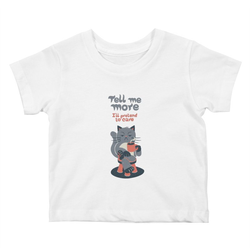 Ironicat Kids Baby T-Shirt by Tobe Fonseca's Artist Shop