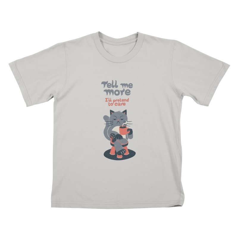 Ironicat Kids T-shirt by Tobe Fonseca's Artist Shop