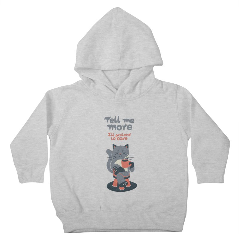 Ironicat Kids Toddler Pullover Hoody by Tobe Fonseca's Artist Shop