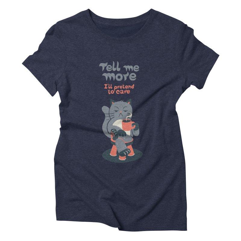 Ironicat Women's Triblend T-shirt by Tobe Fonseca's Artist Shop