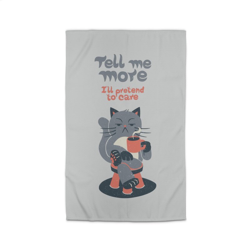 Ironicat Home Rug by Tobe Fonseca's Artist Shop