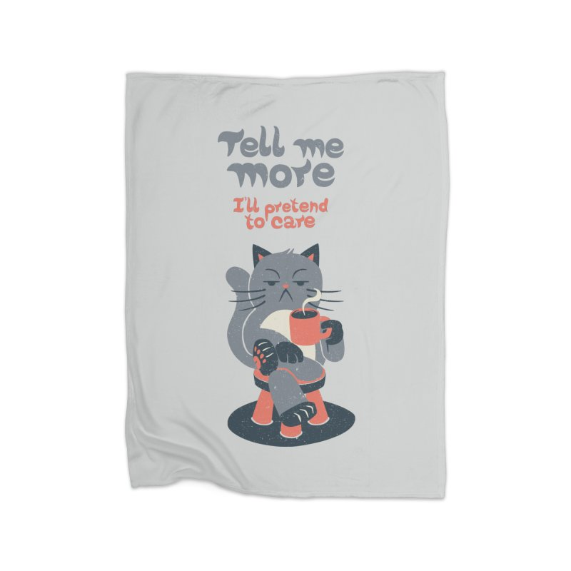 Ironicat Home Blanket by Tobe Fonseca's Artist Shop