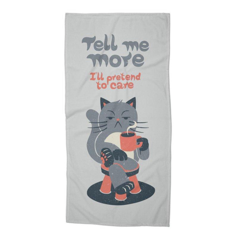 Ironicat Accessories Beach Towel by Tobe Fonseca's Artist Shop