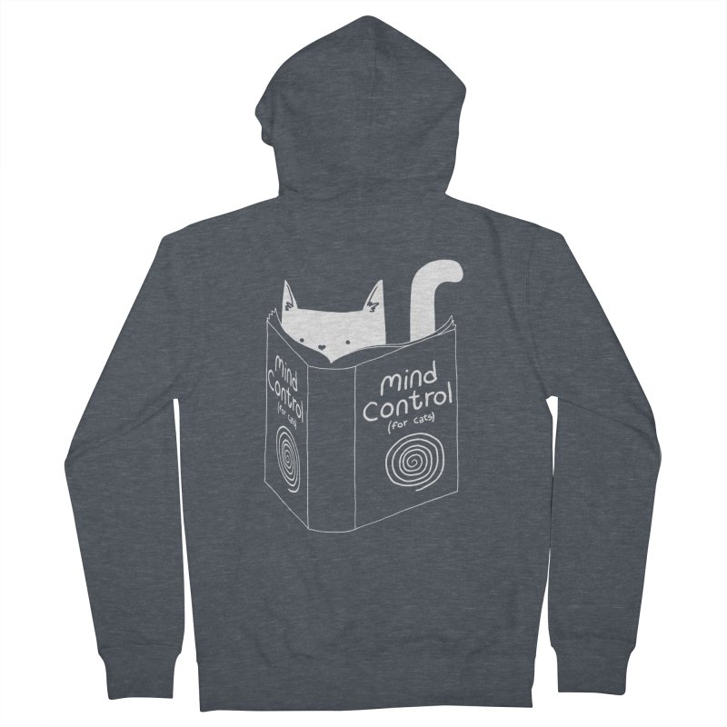Mind Control for Cats Men's Zip-Up Hoody by Tobe Fonseca's Artist Shop