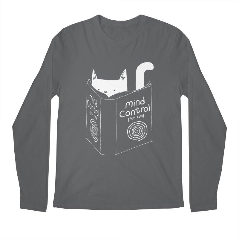 Mind Control for Cats Men's Longsleeve T-Shirt by Tobe Fonseca's Artist Shop