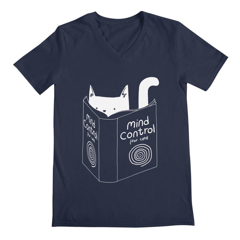 Mind Control for Cats Men's V-Neck by Tobe Fonseca's Artist Shop