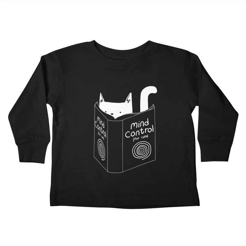 Mind Control for Cats Kids Toddler Longsleeve T-Shirt by Tobe Fonseca's Artist Shop