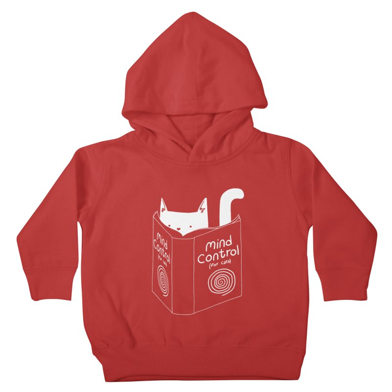 Mind Control for Cats Kids Toddler Pullover Hoody by Tobe Fonseca's Artist Shop