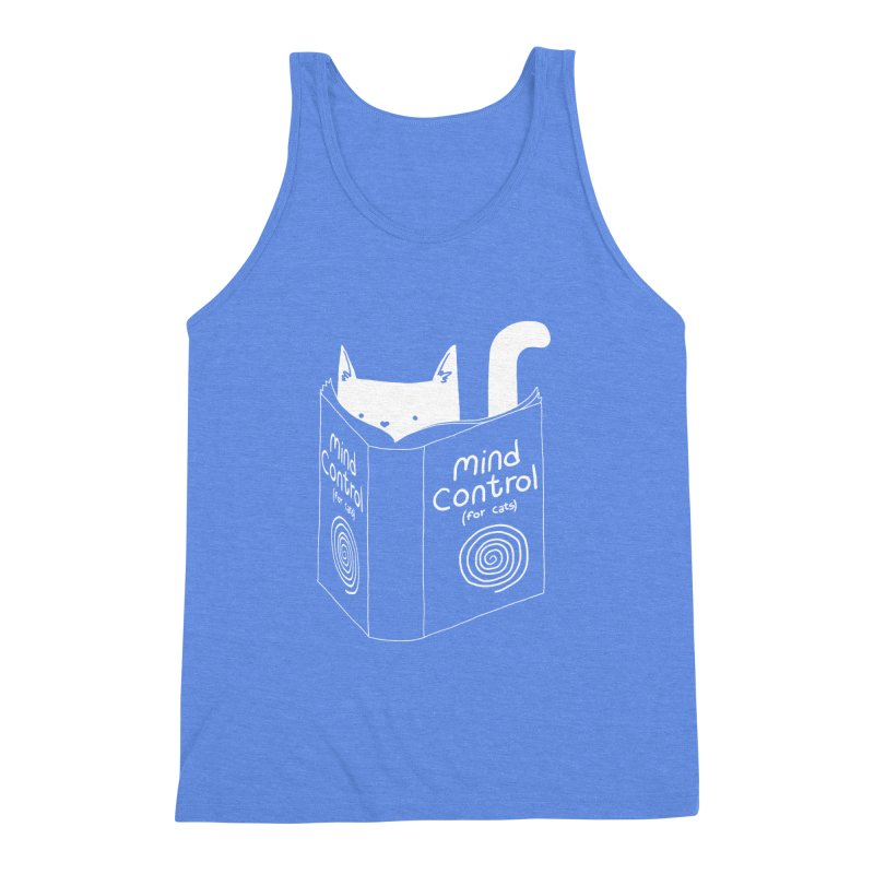 Mind Control for Cats Men's Triblend Tank by Tobe Fonseca's Artist Shop