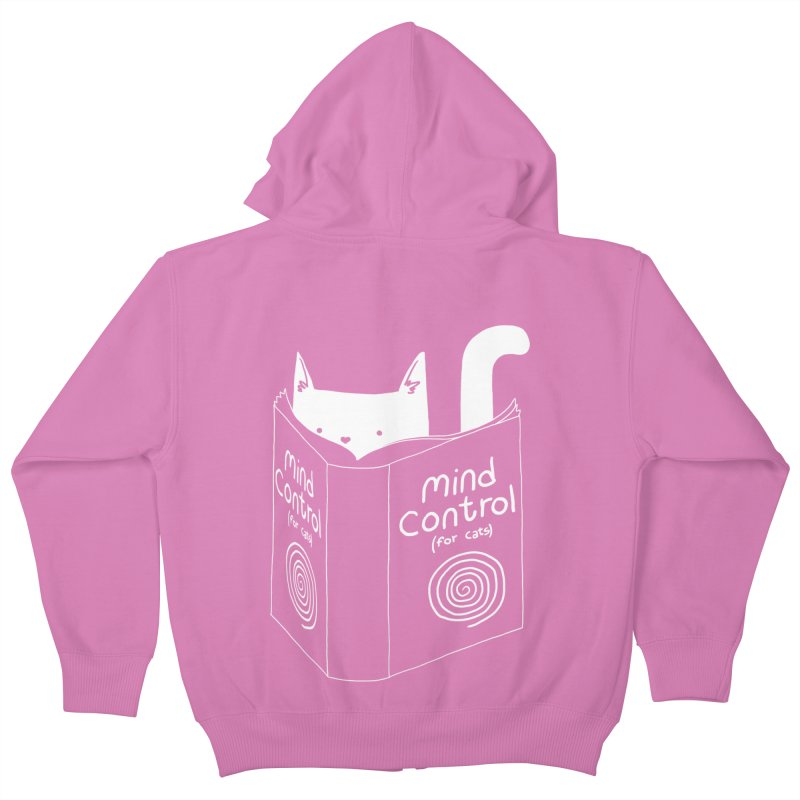 Mind Control for Cats Kids Zip-Up Hoody by Tobe Fonseca's Artist Shop