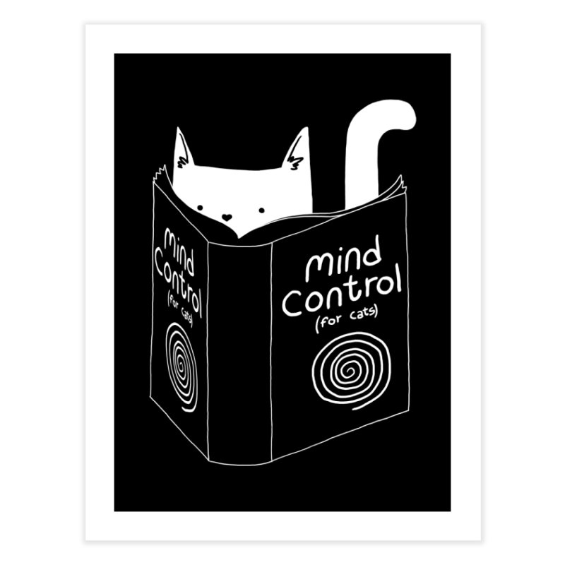 Mind Control for Cats Home Fine Art Print by Tobe Fonseca's Artist Shop