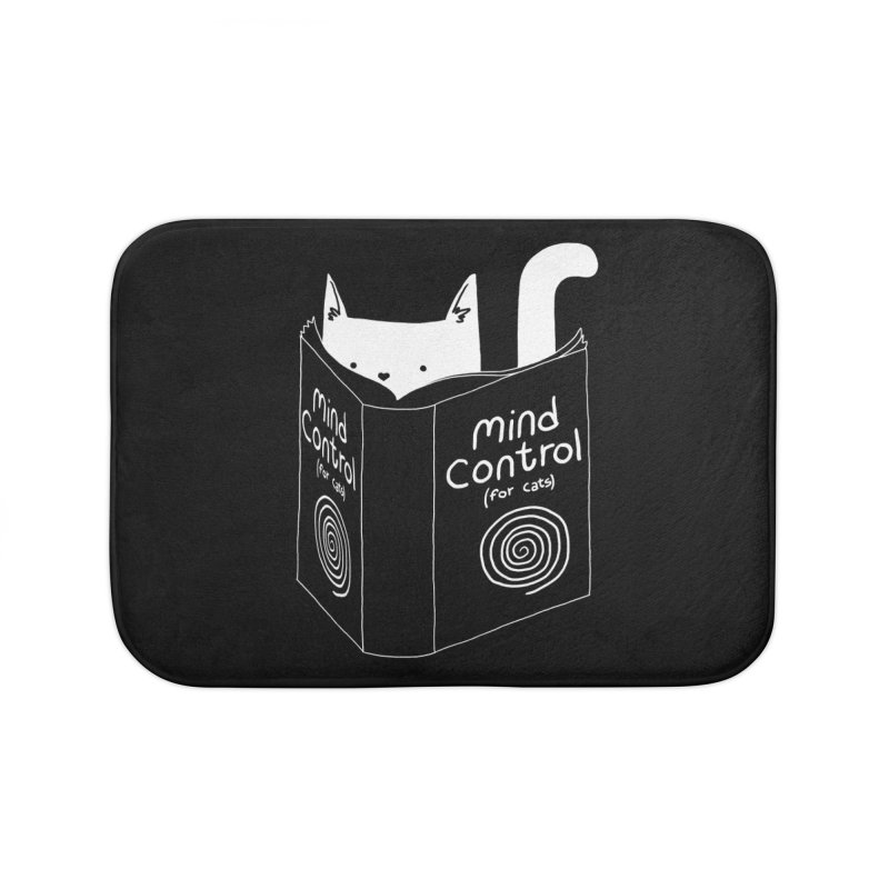 Mind Control for Cats Home Bath Mat by Tobe Fonseca's Artist Shop