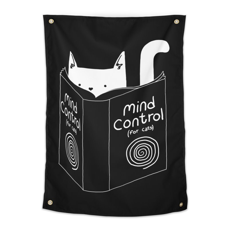 Mind Control for Cats Home Tapestry by Tobe Fonseca's Artist Shop