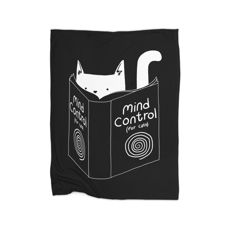 Mind Control for Cats Home Blanket by Tobe Fonseca's Artist Shop