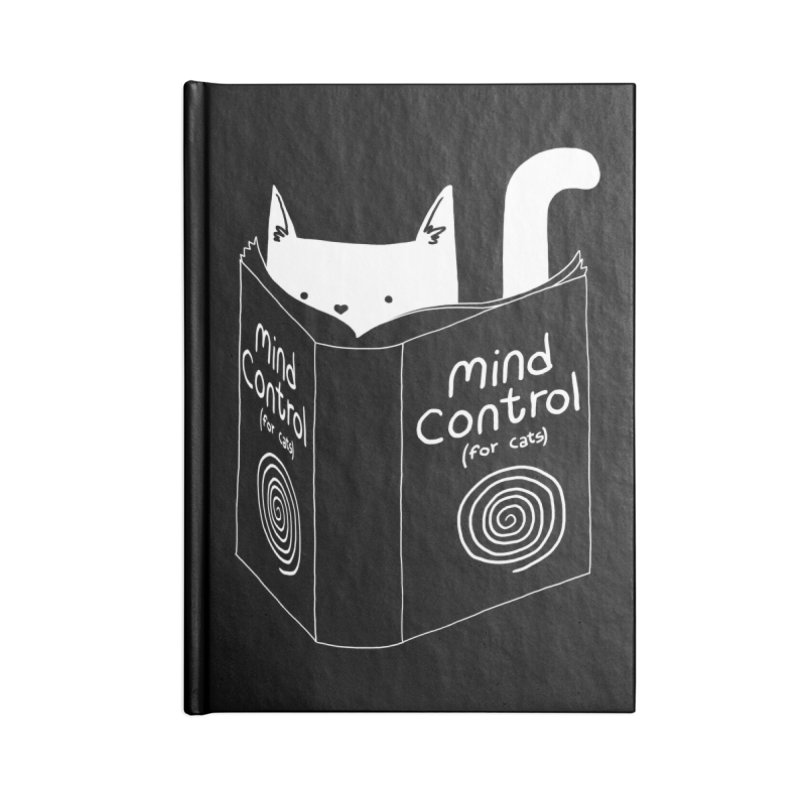 Mind Control for Cats Accessories Notebook by Tobe Fonseca's Artist Shop