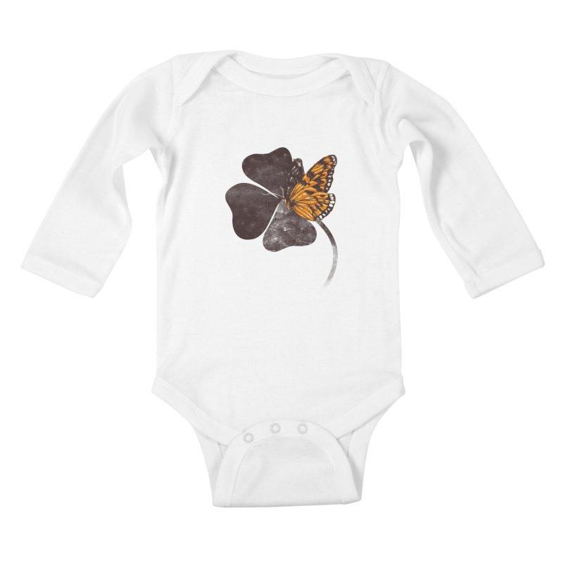 By Chance Kids Baby Longsleeve Bodysuit by Tobe Fonseca's Artist Shop