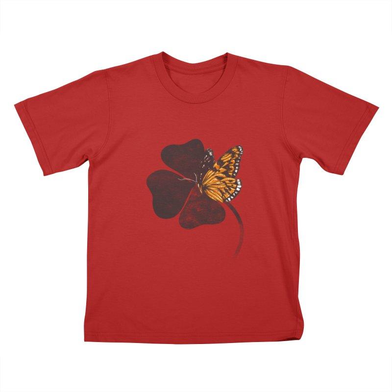 By Chance Kids T-shirt by Tobe Fonseca's Artist Shop