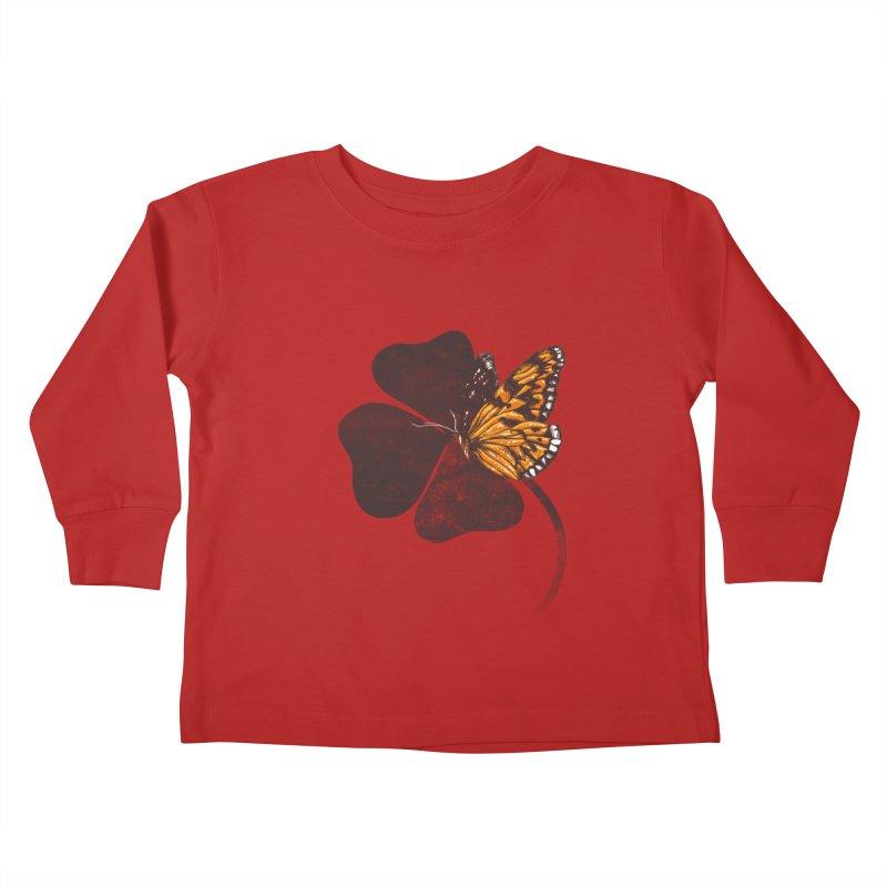 By Chance Kids Toddler Longsleeve T-Shirt by Tobe Fonseca's Artist Shop