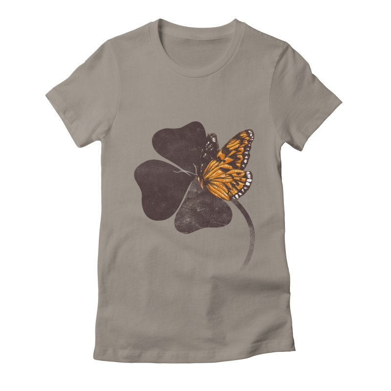 By Chance Women's Fitted T-Shirt by Tobe Fonseca's Artist Shop