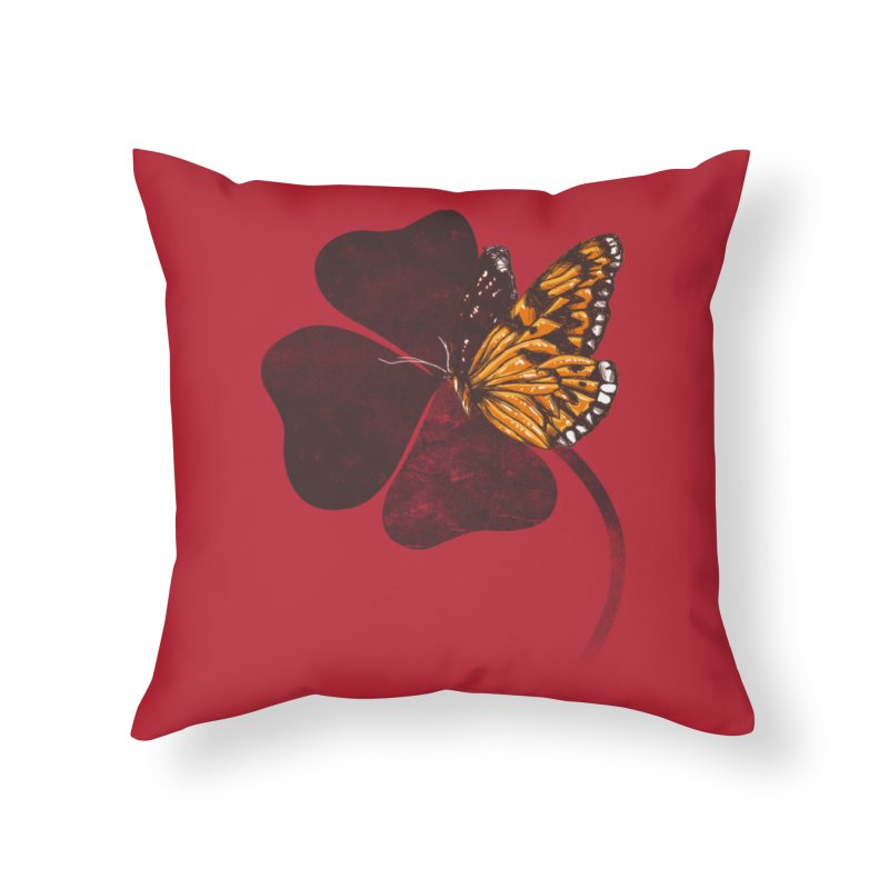 By Chance Home Throw Pillow by Tobe Fonseca's Artist Shop
