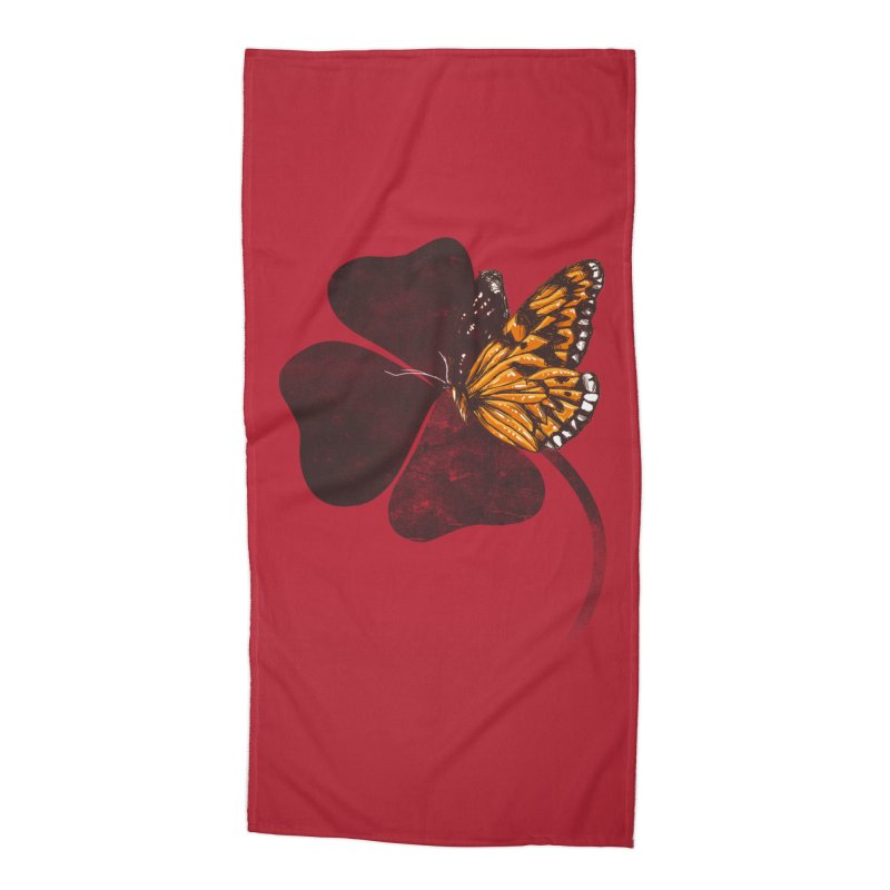 By Chance Accessories Beach Towel by Tobe Fonseca's Artist Shop