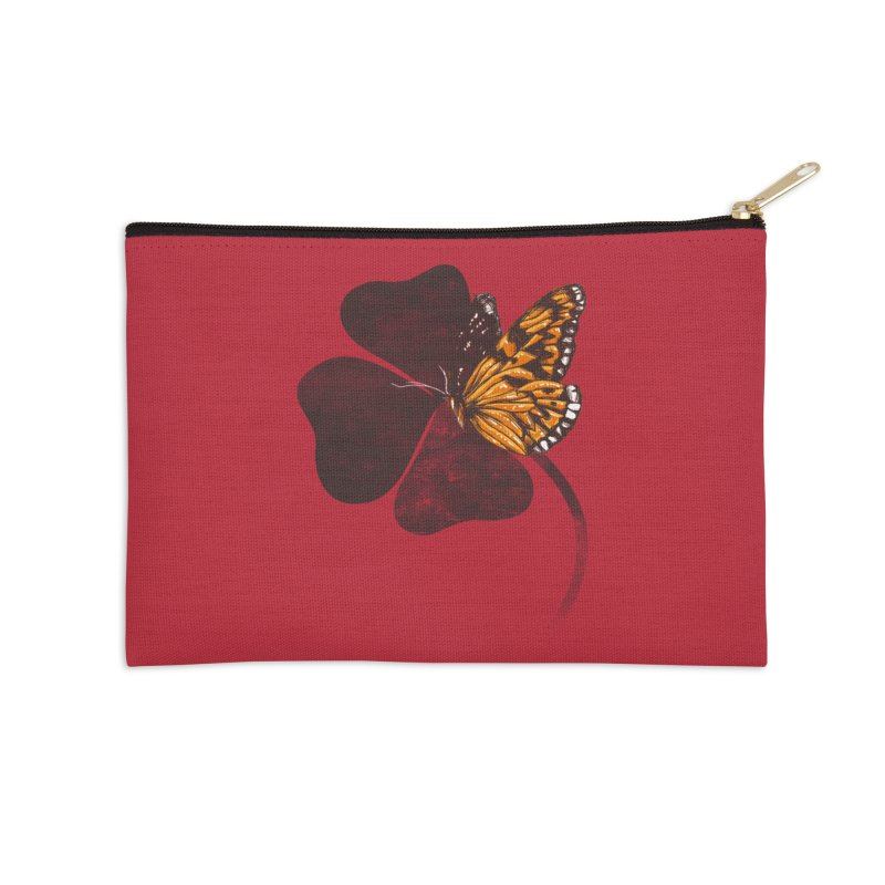 By Chance Accessories Zip Pouch by Tobe Fonseca's Artist Shop
