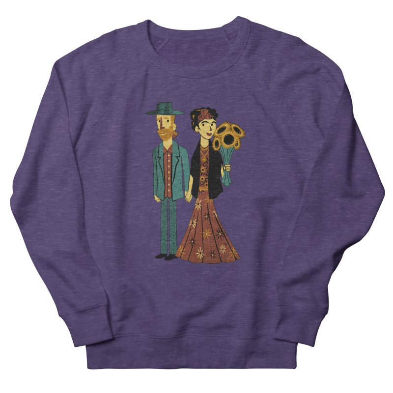 Love is Art Frida Kahlo and Van Gogh  Women's Sweatshirt by Tobe Fonseca's Artist Shop
