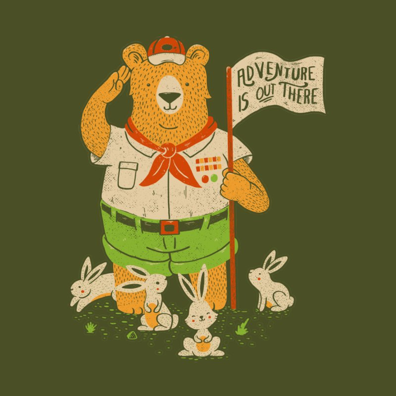 Adventure Is Out There by Tobe Fonseca's Artist Shop